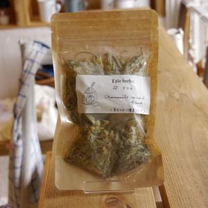 自分へのご褒美ブレンド ハーブティー#006 Eple herbes 全てオーガニックハーブ