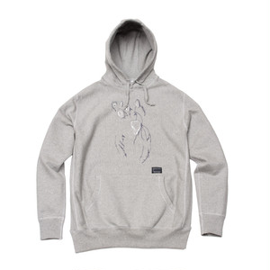 ENTER THE... PULLOVER HOODIE (GREY)