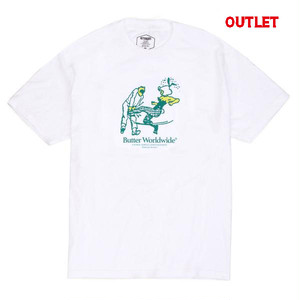 【アウトレット】BUTTER GOODS THE BOOT TEE WHITE サイズ M