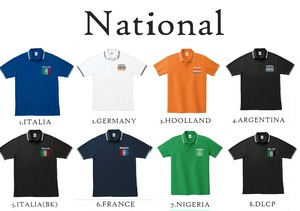 デルコペポロシャツ(ナショナル)