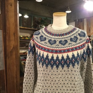 Wool rich Wool Sweater / ウールリッチ サークル セーター
