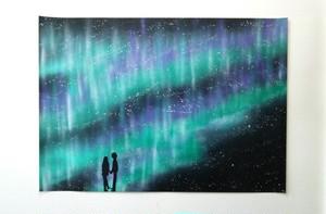 『オーロラ』夜空の奇跡。