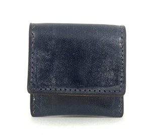 RE.ACT Bridle Leather Coin Case Navy