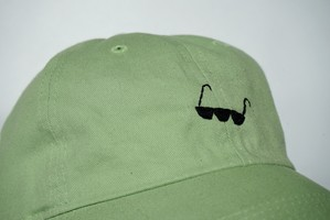 リ○ル・グリーン・メン用「サングラス」 手縫い刺繍キャップ(CAP)