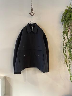 roundabout / Nylon Double Mackinaw Jacket