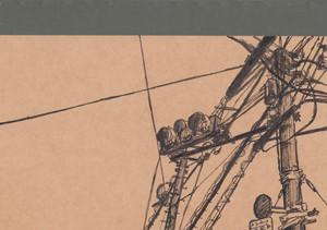 手描き風景画ノート 両面2