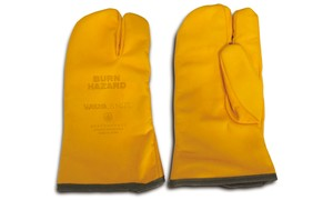 LEATHER CAMP GLOVES / yel
