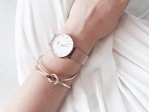 Pinkgold KNOT bracelet