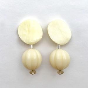 Button Earring J
