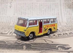 こばと幼稚園 バスのミニカー トミカ