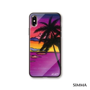 【Passion_Sunset】by MĀLAMA Art&Design/Roxy iPhoneケース