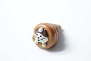 猫オブジェ「パンシリーズ③」