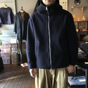 WOOL STRETCH WRAP AROUND PARKA (LAMOND)