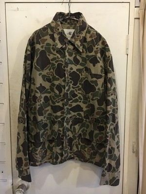 70s cotton camouflage shirts Jacket