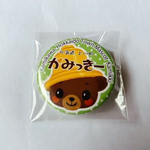 かみっきー缶バッジ【グリーン】