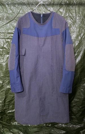 1990s UNDERCOVER ASYMMETRIC KEVLAR DRESS