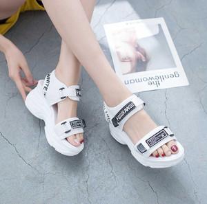 【お取り寄せ商品】sporty logo sandal 6739