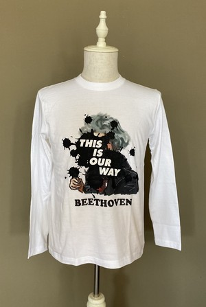 THIS IS OUR WAY LONG TEE BV ホワイト S