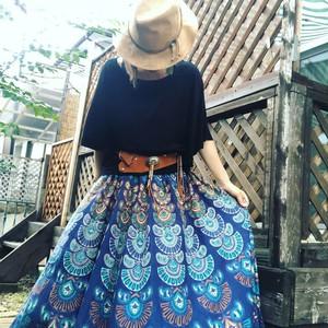 コットンたっぷりフレアースカート
