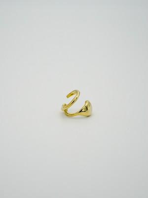 line point earcuff gold(再入荷)