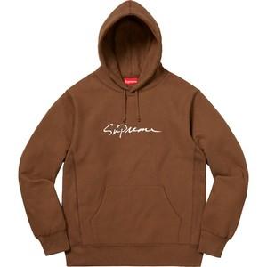 Supreme Classic Script Hooded Sweatshirt