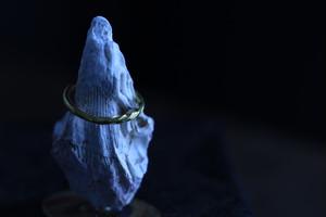 真鍮の指輪