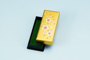 ペンBOX 黄金塗 福桜