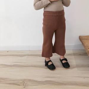 knit bell pants