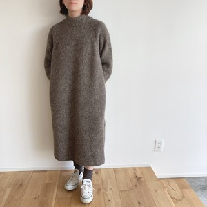 comm.arch.  ALPACA WOOL KNITTED ONE PIECE