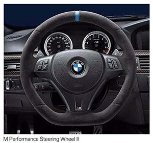 (正規輸入品)BMW M Performance スポーツ・ステアリング・ホイール II E90 / E92 / E93 / E82 弊社限定サービスBMW社発行取付説明書付属