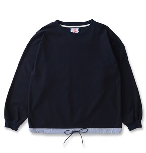 【SON OF THE CHEESE】draw code LS tee(NAVY)