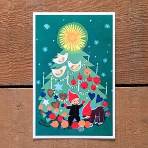クリスマスカード「Kerstin Frykstrand(シェスティン・フルークストランド)」《201101-06》