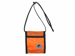 NYLON PASS CASE ORANGE 18AW-FS-61