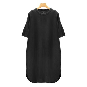 MAISON DE SOIL/メゾンドソイルCOTTON JERSEY CREW NECK ロングTシャツ【RNMD2002】