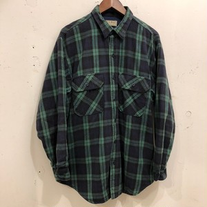 80's L.L.BEAN Flannel Shirts With Lining