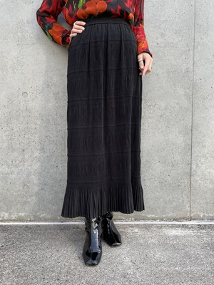 (TOYO) pleats design skirt