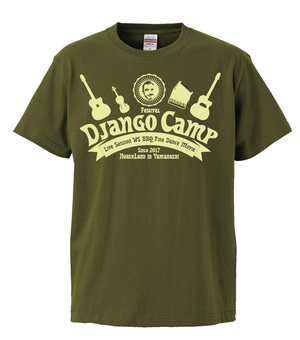 Tシャツ(S,M)ジャンゴキャンプ