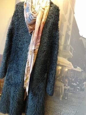 knit coat  TANDEM  2018AW