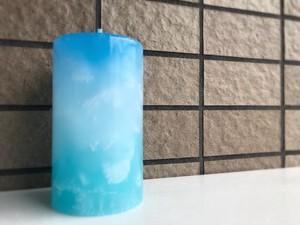 ゆるり(pillar candle)06