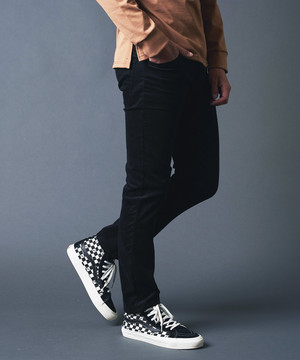 WASHED SUMMER CORD CROPPED 5POCKET PANTS