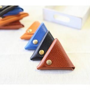 トスカーナの三角コインケース カラー4色 イタリアンレザー