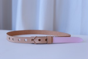 "【ご予約商品】TULIP EN MENSEN ""Paint Loop Belt"" [S]"