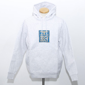 【OBEY】STACK HOOD (ASH GREY)