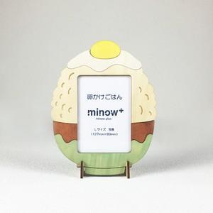 「卵かけごはん」木製写真立て(L判サイズ用)