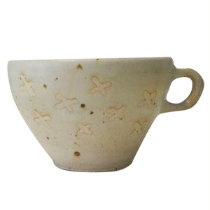 花*カフェオレカップ