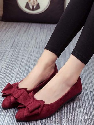 【shoes】Women's comfortable pointed casual flat shoes