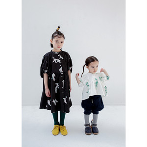 【folk made】F20AW-004 afghan hound dress LL(140-155㎝)