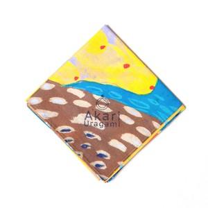 ハンカチ mi piel:yellow sea