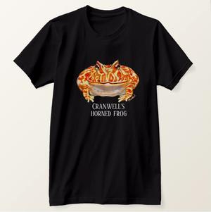 クランウェルツノガエル Tシャツ Made in America USサイズ