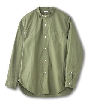 "PHIGVEL ""BAND COLLAR UTILITY SHIRT"""